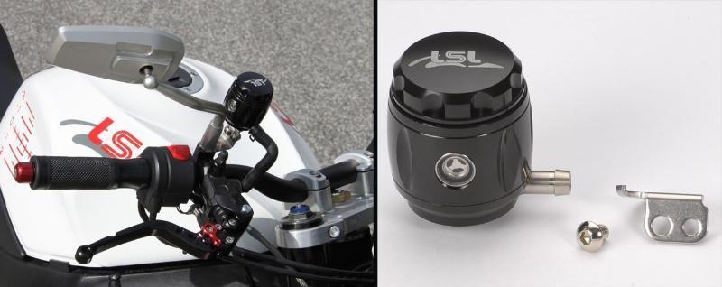 bocal de liquide de frein 36ml lsl aluminium taill dans la masse anodis noir pi ces freinage. Black Bedroom Furniture Sets. Home Design Ideas