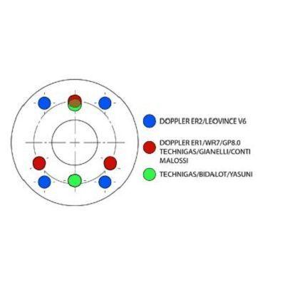 Silencieux Doppler ER1 D.70 noir universel - 1