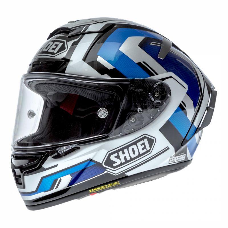 Casque intégral Shoei X-Spirit III Brink bleu/blanc