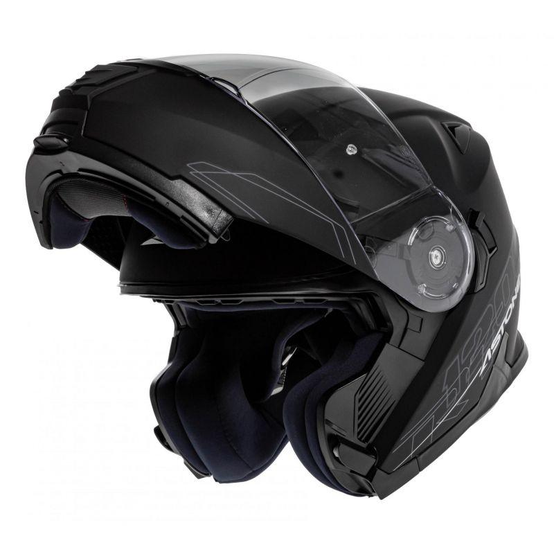 Casque Modulable Astone Rt 1200 Mono noir mat - 1