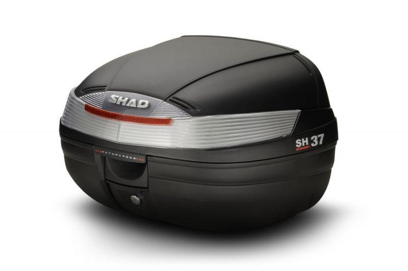 Top case SHAD SH37 Noir Brut