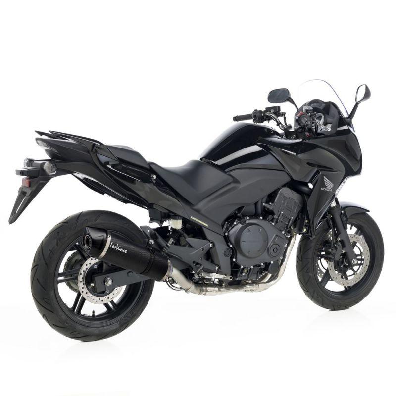 Silencieux Leovince LV One Evo full carbone pour Honda CBF 1000 10-13