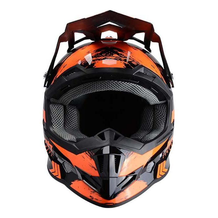 Casque cross Trendy T-902 Mach1 noir / orange - 2