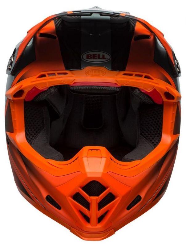 Casque cross Bell Moto 9 Flex Hound Gloss orange mat/charcoal - 4