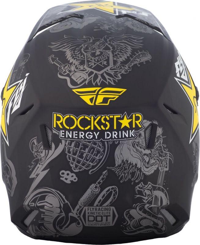 Casque cross Fly Racing Elite Guild Rockstar - 2