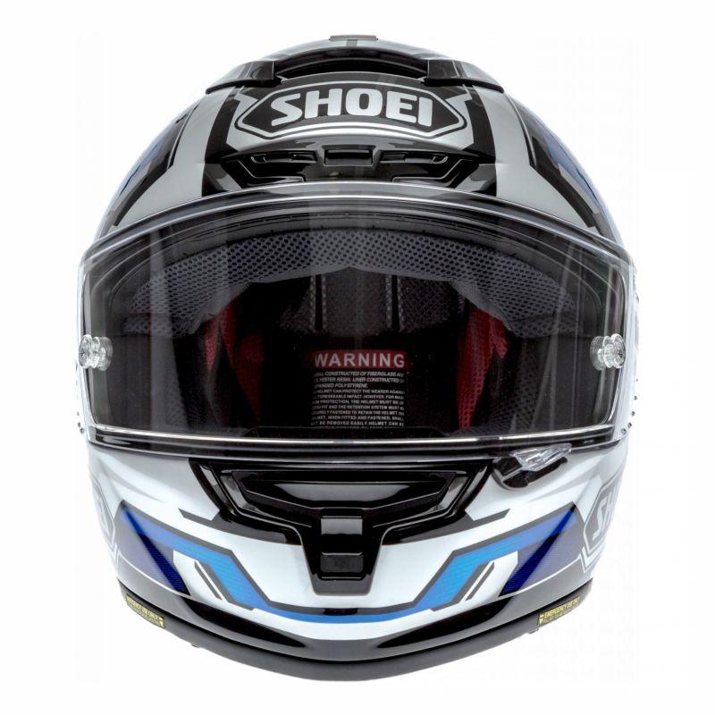 Casque intégral Shoei X-Spirit III Brink bleu/blanc - 3