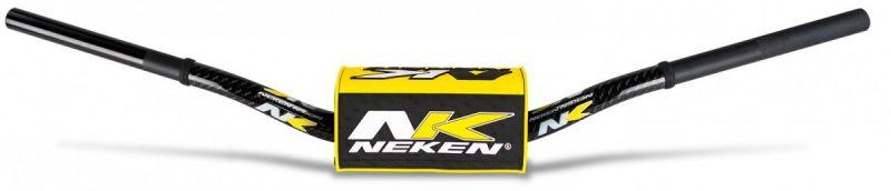 Guidon à diamètre variable sans barre Neken K-BAR noir/jaune
