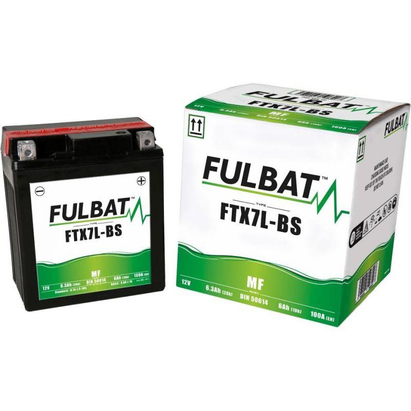Batterie YTX7L-BS Fulbat 12V - 6Ah