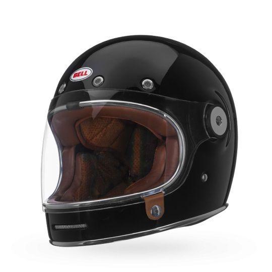 casque int gral bell bullitt solid noir brillant casques moto sur la b canerie. Black Bedroom Furniture Sets. Home Design Ideas