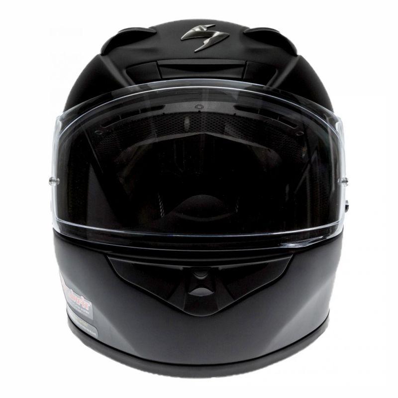 Casque intégral Scorpion EXO-710 AIR Solid Noir mat - 3