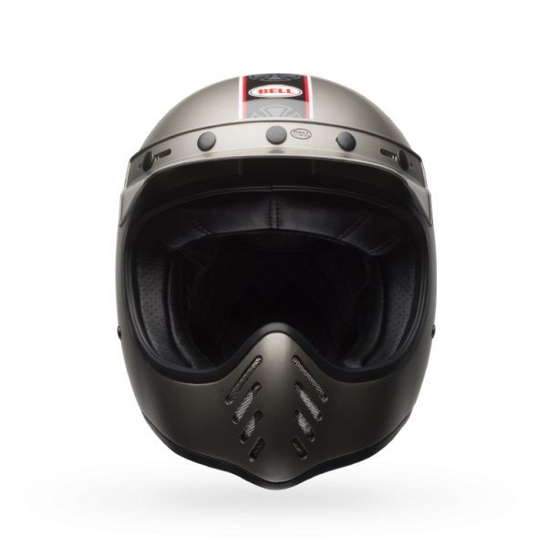 Casque Bell Moto 3 Independent gris mat - 2