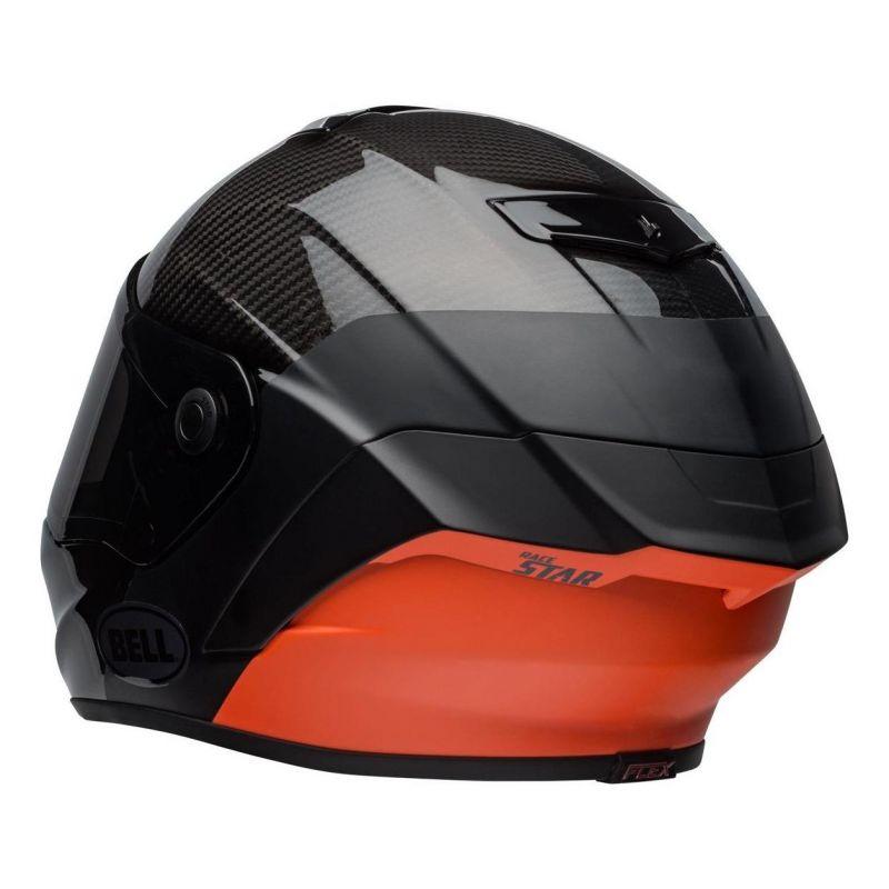 Casque intégral Bell Race Star Flex Surge noir/orange - 5