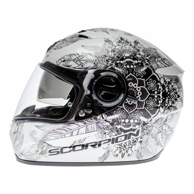 Casque intégral Scorpion EXO-490 DREAM blanc/caméléon - 1