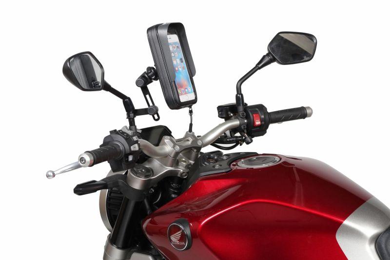 Support de smartphone Shad 6,6'', 180x90mm (fixation rétroviseur) - 1