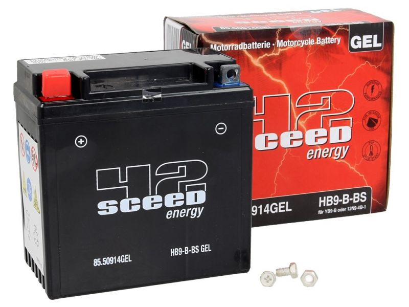 Batterie gel Sceed 42 HB9-B 12V 9Ah