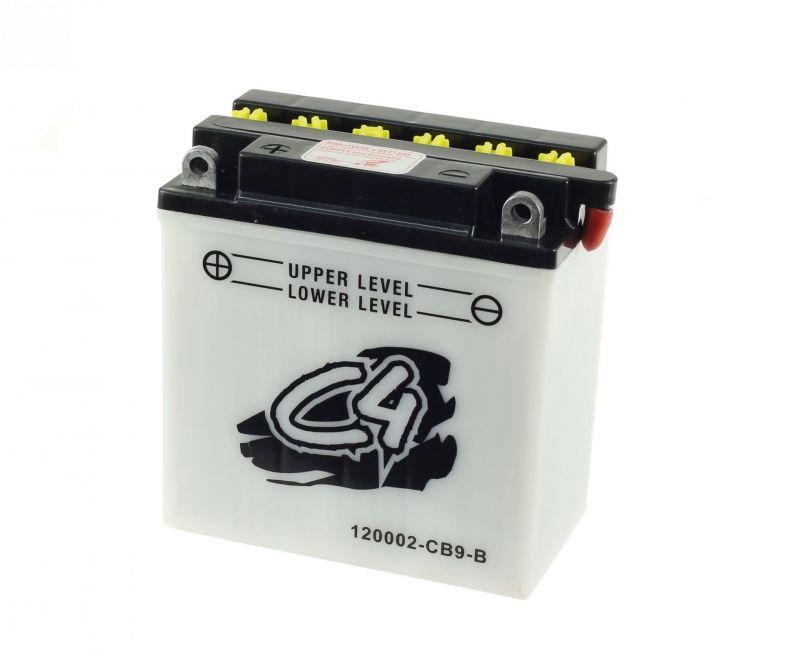 Batterie C4 CB9-B 12V 9Ah