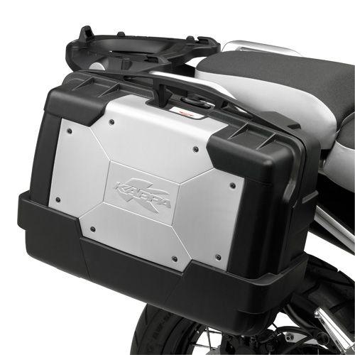 Top case Kappa Garda Monokey KGR33 33 Litres noir/alu - 1