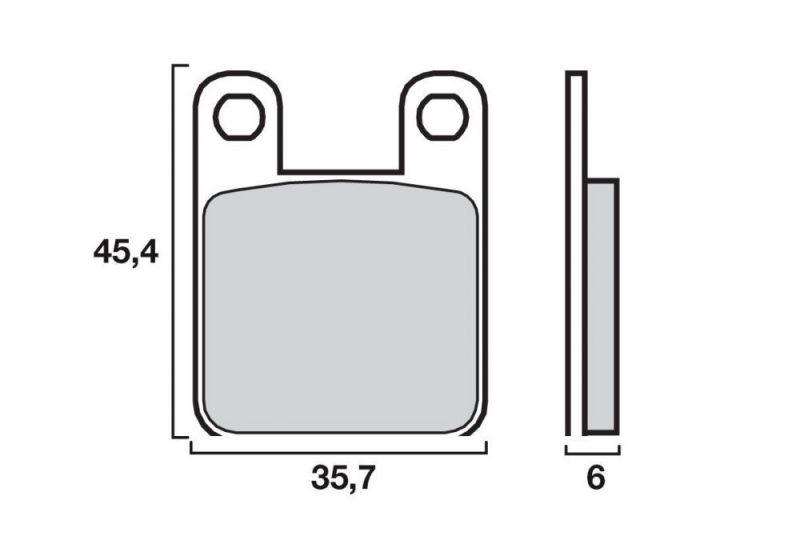 plaquettes de frein brembo 07044cc carbone c ramique avant arri re pi ces freinage sur la. Black Bedroom Furniture Sets. Home Design Ideas