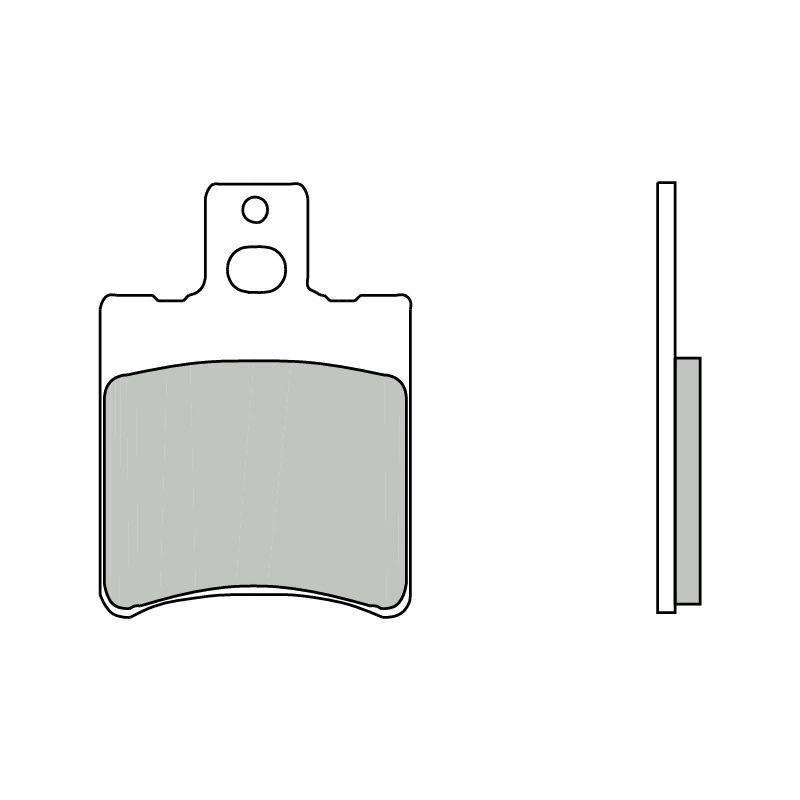 plaquettes de frein brembo 07086cc carbone c ramique avant pi ces freinage sur la b canerie. Black Bedroom Furniture Sets. Home Design Ideas