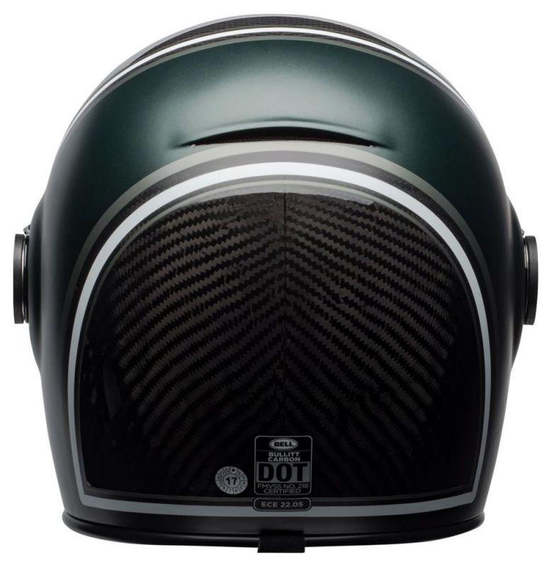 Casque intégral Bell Bullitt Carbon RSD Gloss/Matte green range - 1