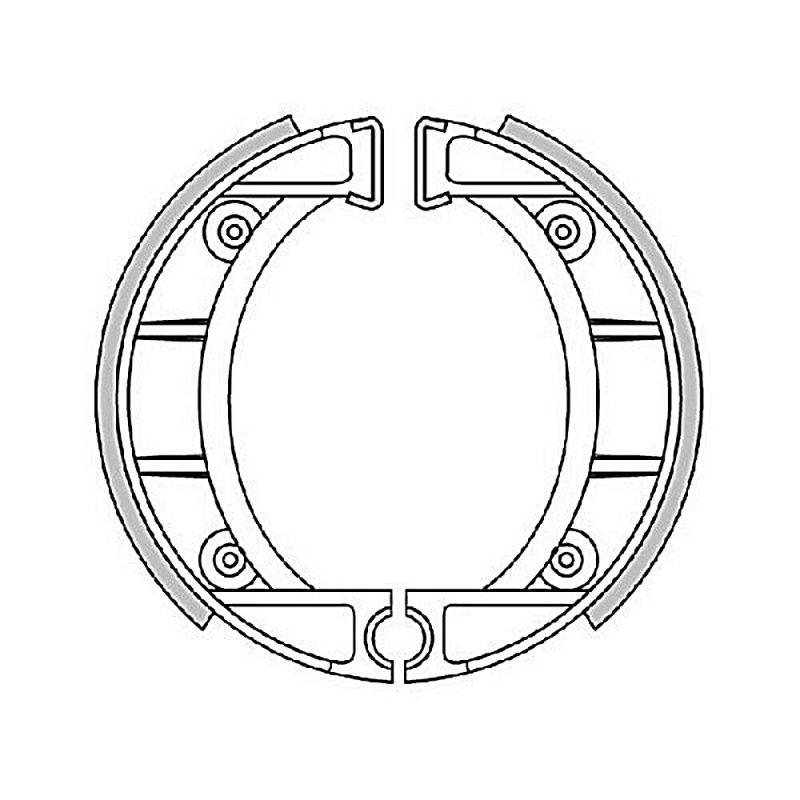 Mâchoires de frein Polini Original pour Red Rose/Fifty 50