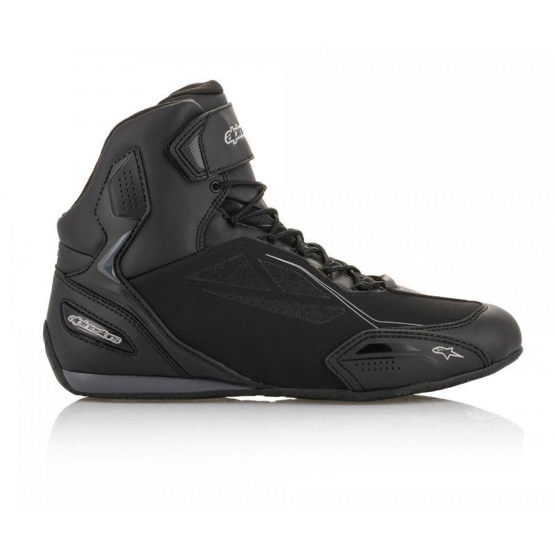 Chaussures moto femme Alpinestars Stella Faster 3 Drystar noir/argent - 2