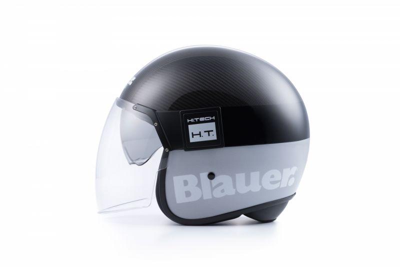 Casque Blauer POD Carbon brillant/Gris Mat - 1