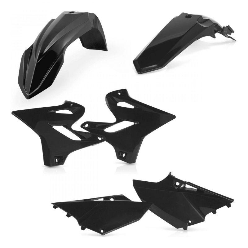 Kit plastiques Acerbis Yamaha 125 YZ 2018 noir