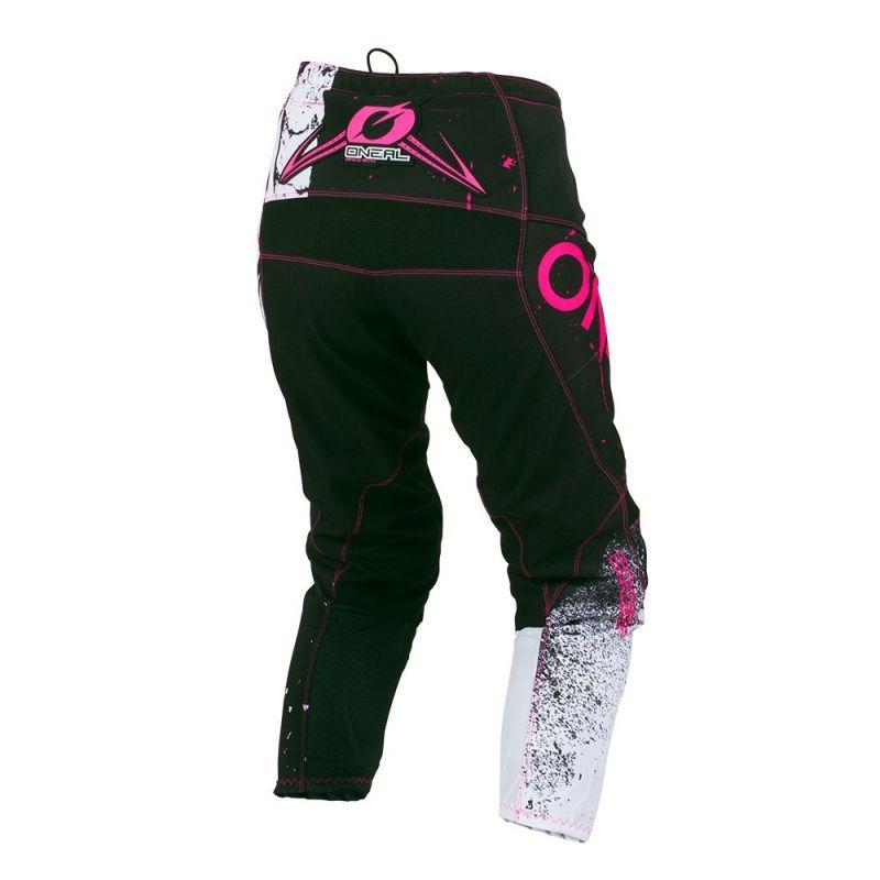 Pantalon cross femme O'Neal Element Shred rose - 1