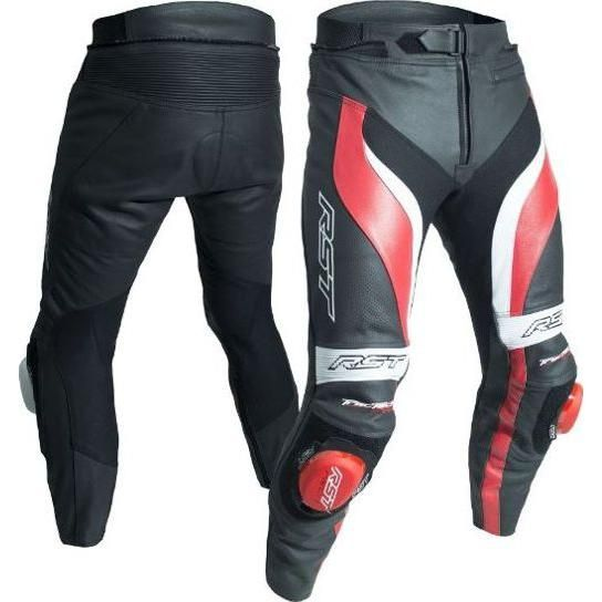 Pantalon cuir RST Tractech Evo 3 rouge - 1