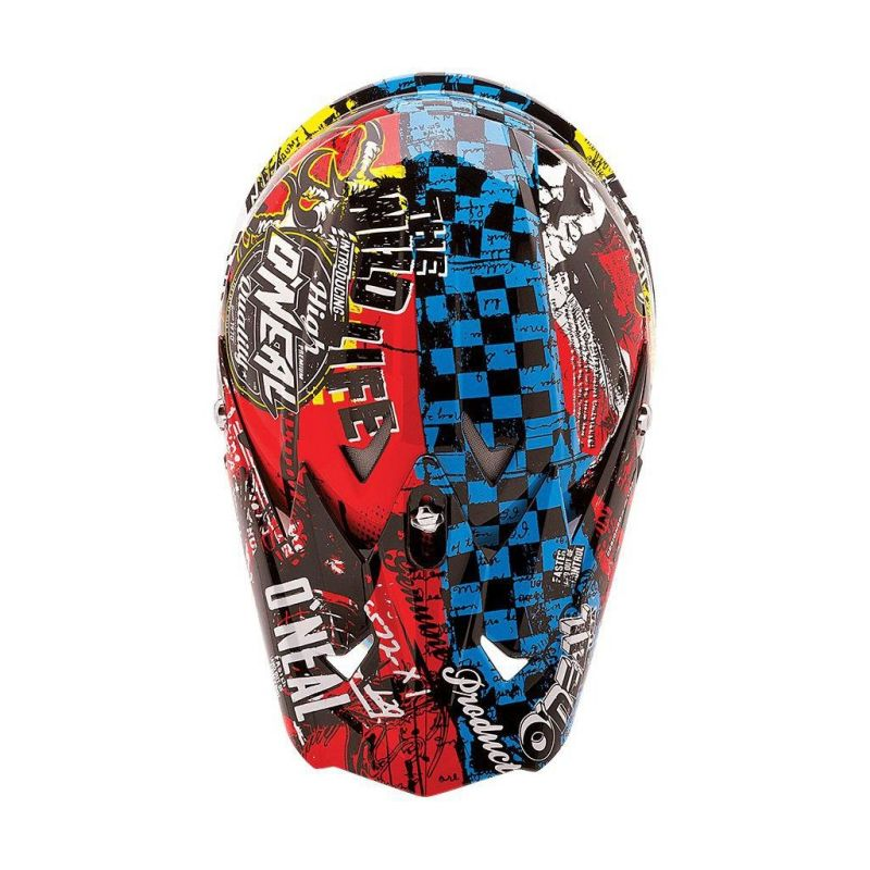 Casque cross enfant O'Neal 3SRS Wild multicolore - 2