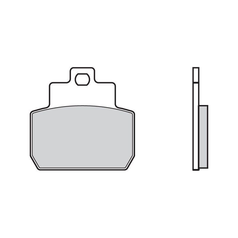 plaquettes de frein brembo 07061cc carbone c ramique avant arri re pi ces freinage sur la. Black Bedroom Furniture Sets. Home Design Ideas