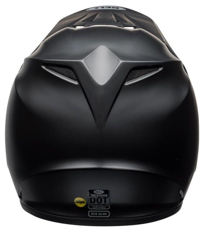 Casque cross Bell MX 9 Mips Gloss noir mat - 2