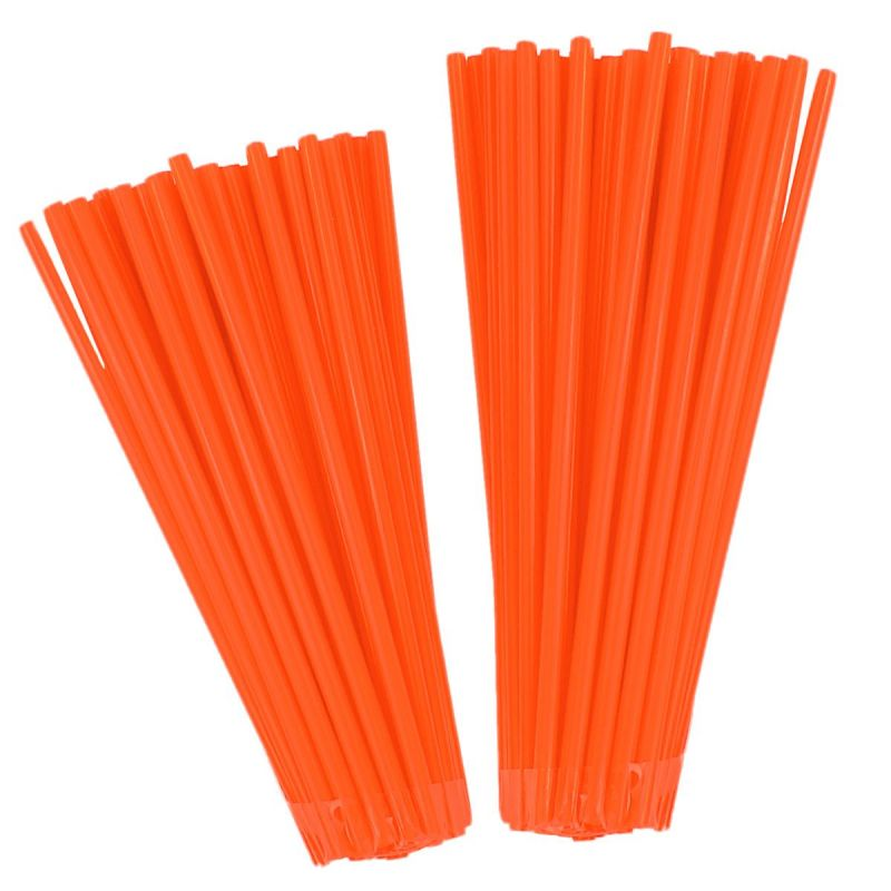 Couvre rayons Noend orange fluo