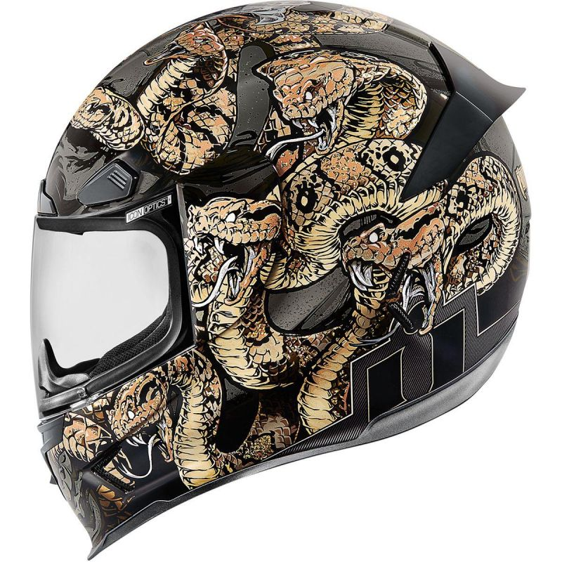 Casque intégral Icon Airframe Pro Cottonmouth or - 2