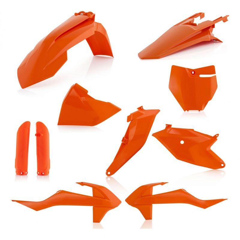 Kit plastiques complet Acerbis KTM 85 SX 2019 (orange 16)