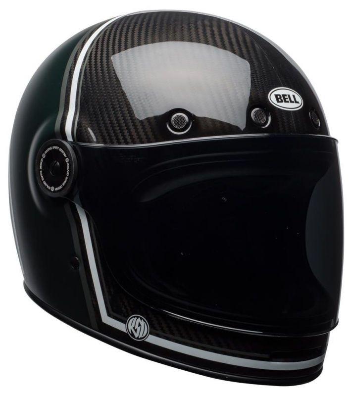 Casque intégral Bell Bullitt Carbon RSD Gloss/Matte green range - 4
