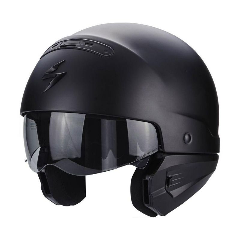 Casque Scorpion EXO-COMBAT noir mat - 1