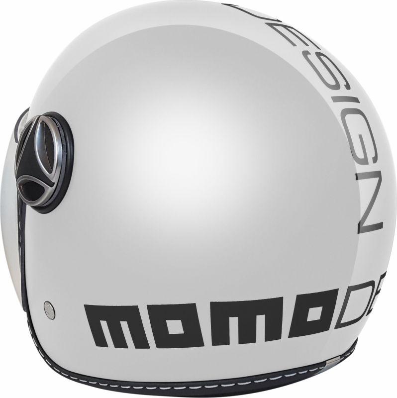 Casque jet enfant Momo Design FGTR Baby blanc - 2