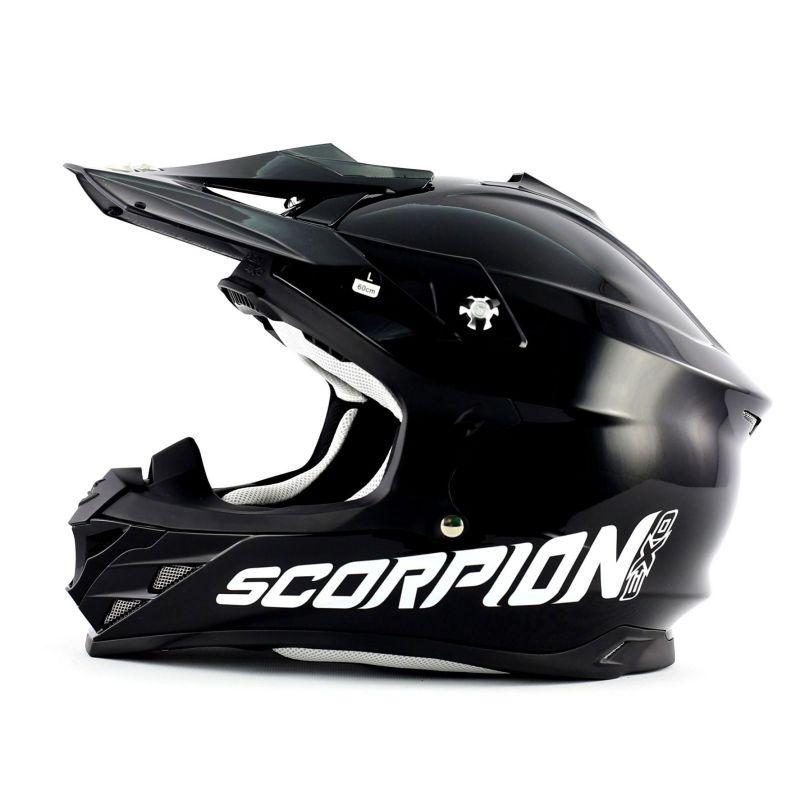 Casque cross Scorpion VX 15 EVO AIR Noir