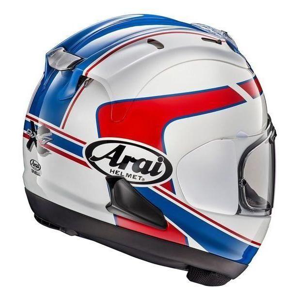 Casque intégral Arai RX-7V Schwantz bleu/blanc/rouge - 1