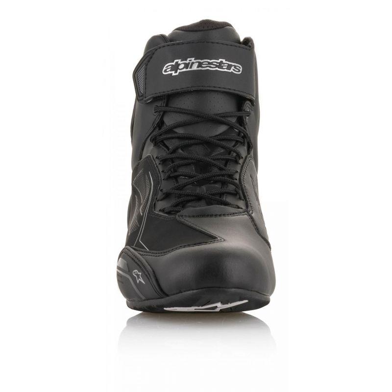 Chaussures moto femme Alpinestars Stella Faster 3 Drystar noir/argent - 6