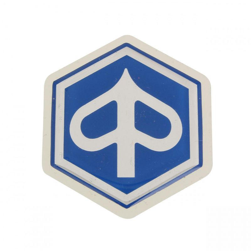 Autocollant Piaggio 50-125 pour Tablier avant