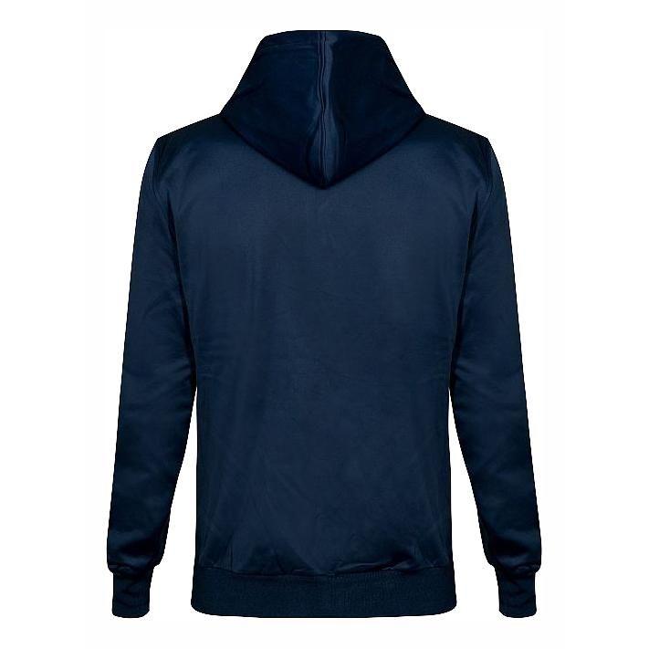 Sweat à capuche zippé insulation VR46 Core bleu - 1