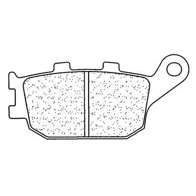 Plaquettes de frein Carbone Lorraine 2296RX3 - 2