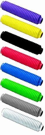 Soufflets de fourche noir d35 longueur 330mm
