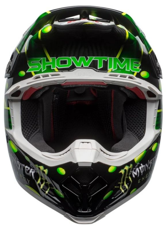 Casque cross Bell Moto 9 Flex MC Grath Monster Replica 18.0 Gloss - 5