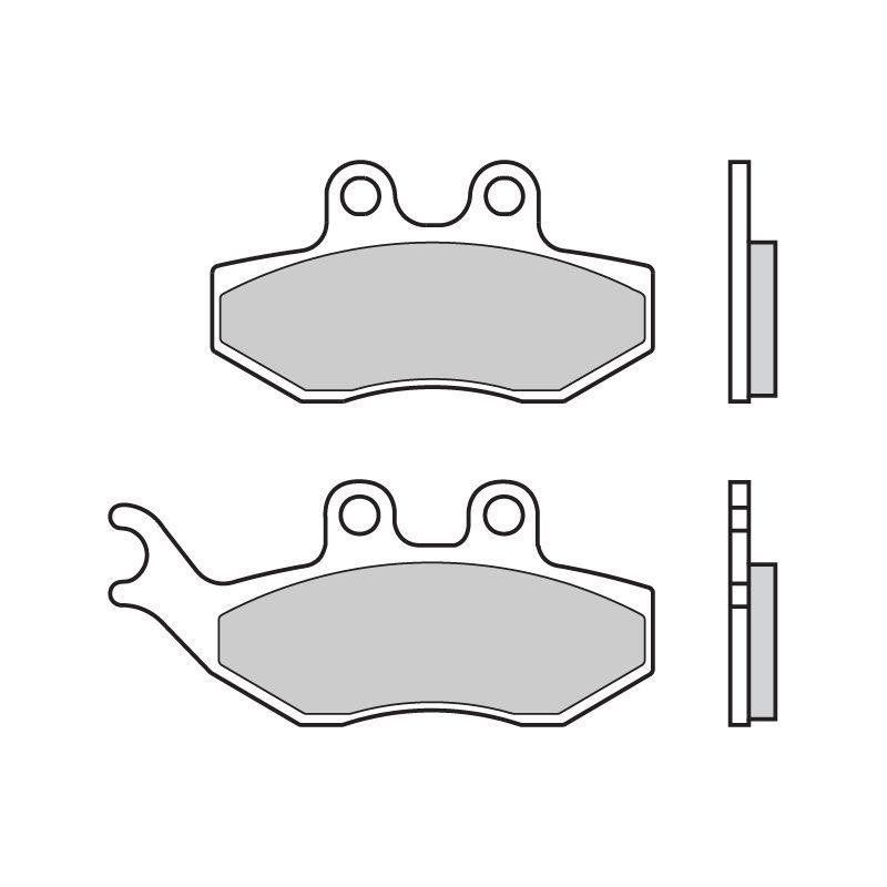 plaquettes de frein brembo 07049cc carbone c ramique avant pi ces freinage sur la b canerie. Black Bedroom Furniture Sets. Home Design Ideas