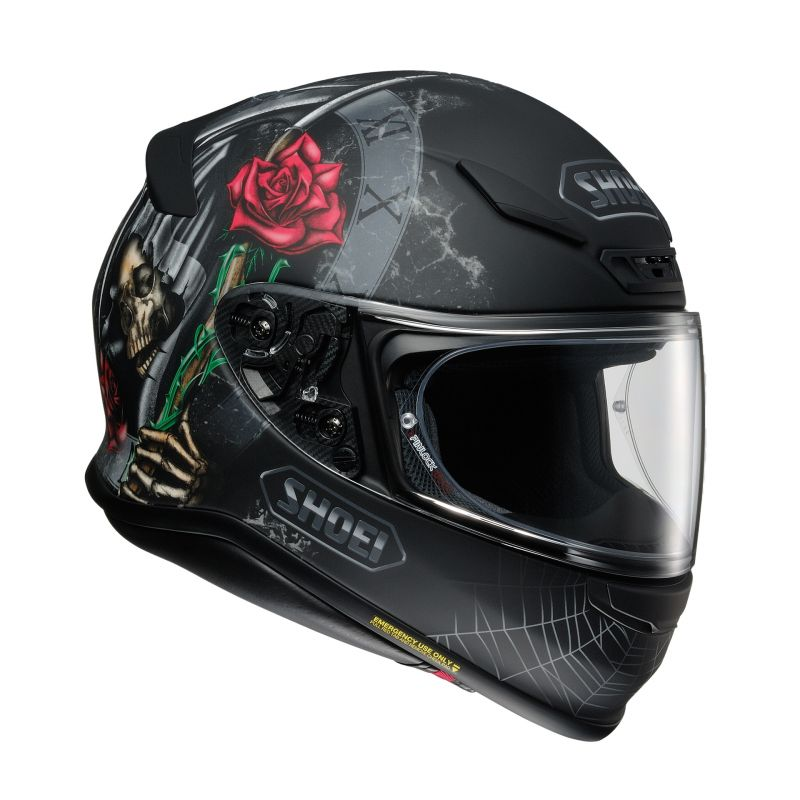 Casque intégral Shoei NXR Dystopia TC-5 noir/rouge - 1