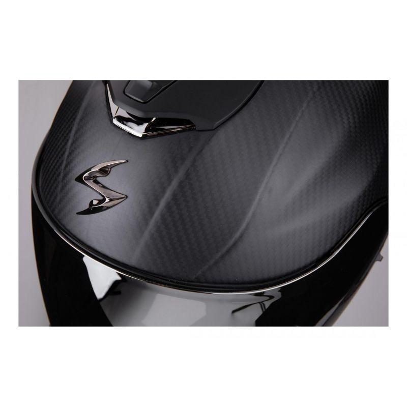 Casque intégral Scorpion Exo-1400 Air Carbon Solid Mat noir - 3